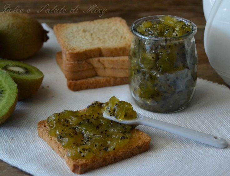 ricetta marmellata di kiwi| Dolce e Salato di Miky
