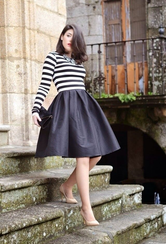 25 Amazing Outfits With Midi Skirts