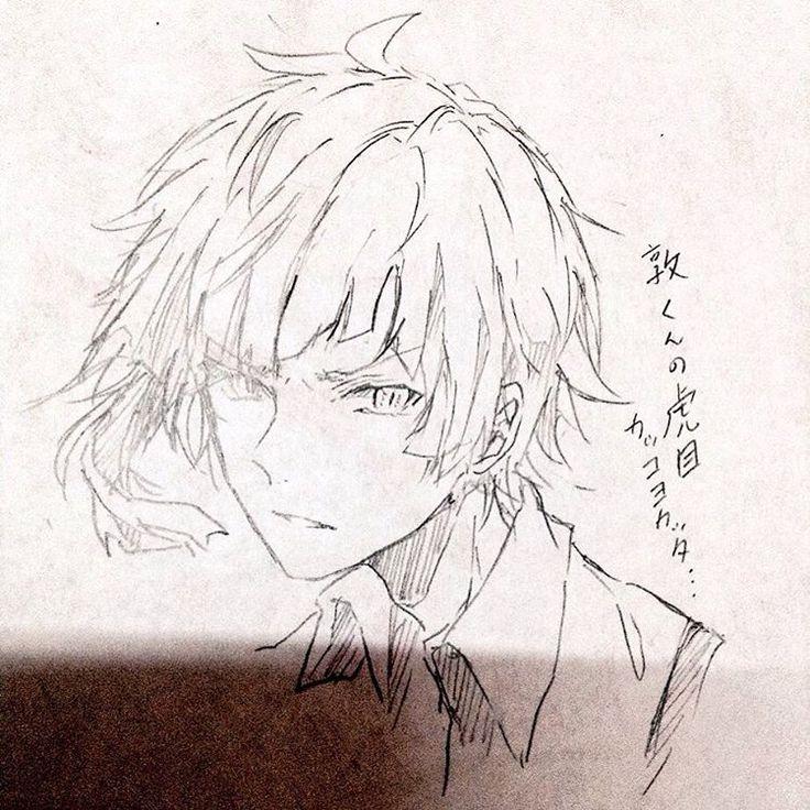 """1,814 Likes, 7 Comments - 美月 (@fuwa_uwa) on Instagram: """"文豪にハマりました敦くん #draw#drawing #watercolor #anime#illustagram #文豪ストレイドッグス #中島敦#文スト"""""""