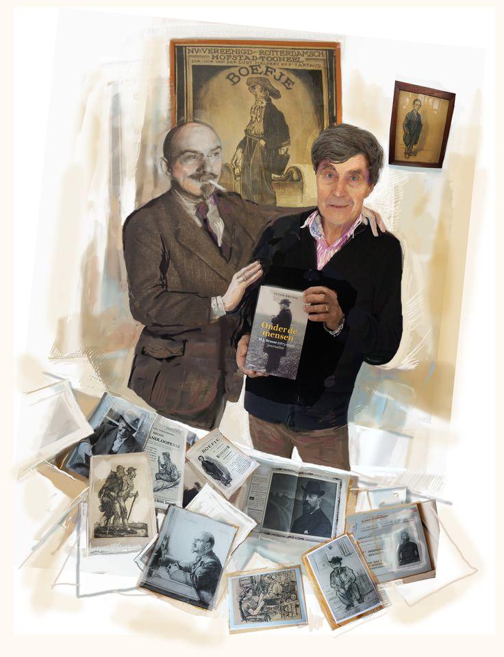 Peter Brusse schreef een biografie over zijn destijds zeer beroemde en vooruitstrevende vader die schrijver en journalist was. Het boek: Onder de mensen is bijzonder lezenswaardig en een aanrader.  Uigeverij Balans
