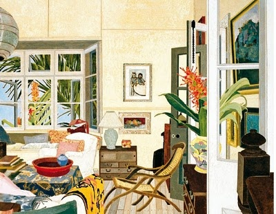 Cressida Campbell painting