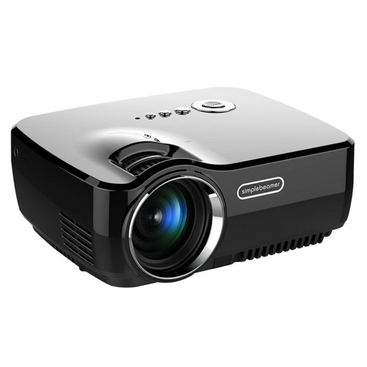 Smart Phone Projector, Vivibright Mini LED GP70 Support: Amazon.co.uk: Electronics