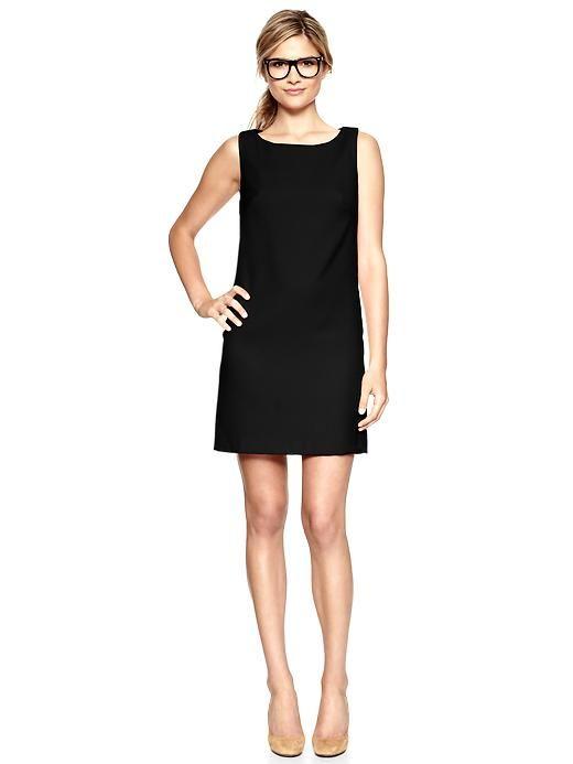 Black shift dress images