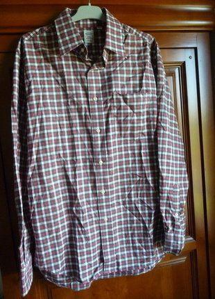 À vendre sur #vintedfrance ! http://www.vinted.fr/mode-femmes/blouses-and-chemises/25365956-chemise-vintage-a-carreaux-rouges-et-verts