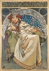 Princess Hyacinth, 1911, colour lithograph