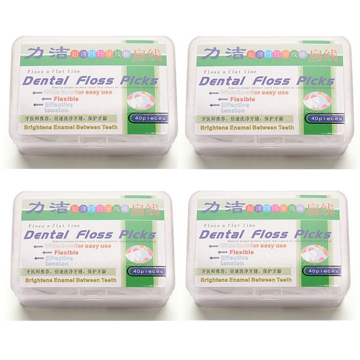 Dental Floss Picks Flat Wire Dental Toothpick Quality Plastic Dental Flosser loaded oral hygiene Free shipping 160 piece