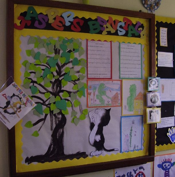 Jasper's Beanstalk classroom display photo - Photo gallery - SparkleBox