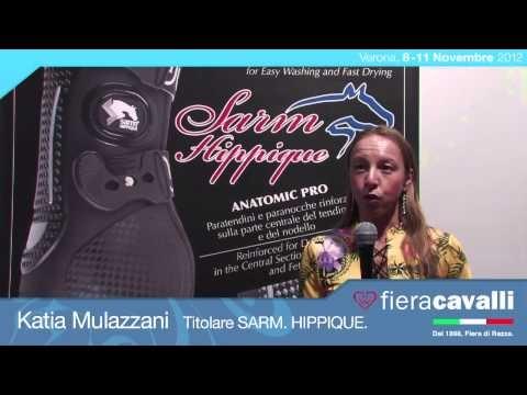 Intervista a Katia Mulazzani di Sarm. Hippique. #fieracavalli