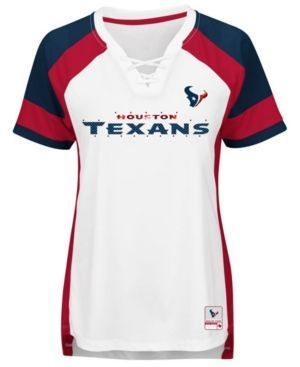 Majestic Women's Houston Texans Draft Me T-Shirt - White XXL