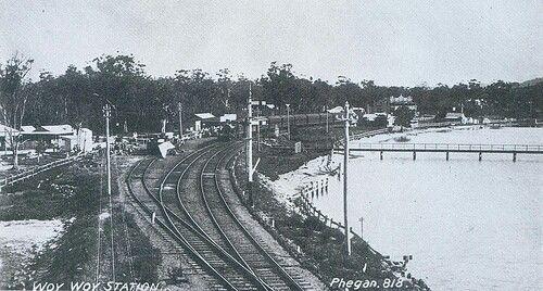 Woy Woy Railway Station.On the central coast,just north of Sydney.A♥W
