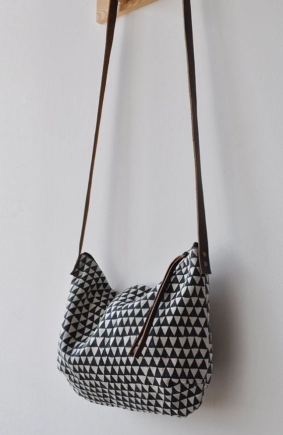 triangle bag - love!