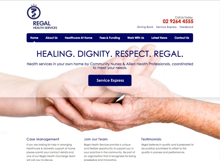 Regal Health - http://www.regalhealth.com.au/