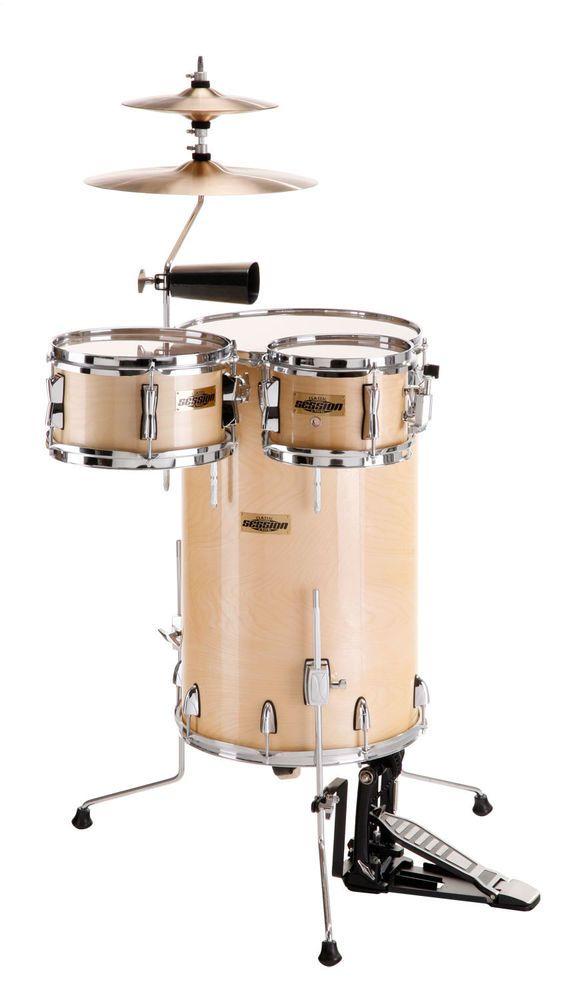 XDrum Set de percusión Club maple translucido