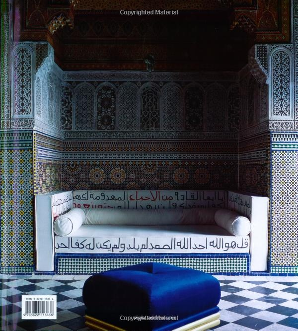 MadAbout Interiors Moroccan Interior With Blue Accents