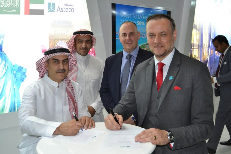 Asteco has added its first Master Franchise in Saudi Arabia to its growing integrated network, taking the tally of franchises to 15 in the GCC.  The Company participated in the 11th edition of the Cityscape Abu Dhabi 2017 and showcased Marina Arcade by Ma'dain Properties.  #Asteco #Sales #Leasing #OwnersUnion #Franchising #UKaccredited