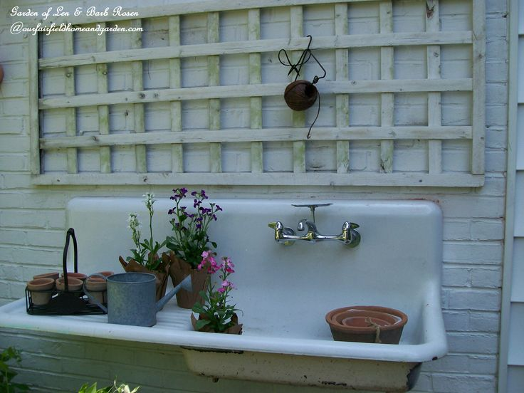126 Best Old Kitchen Sinks Images On Pinterest Bathroom