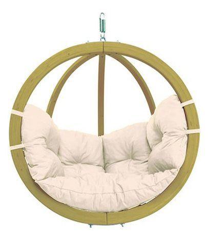 Globo Scandinavian Spruce Hanging Chair