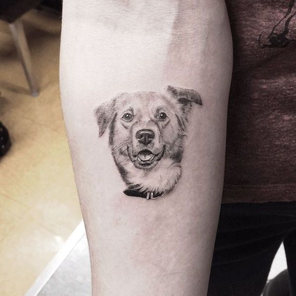 35 Cute Dog Tattoo Designs To Make Your Friendship Alive Forever