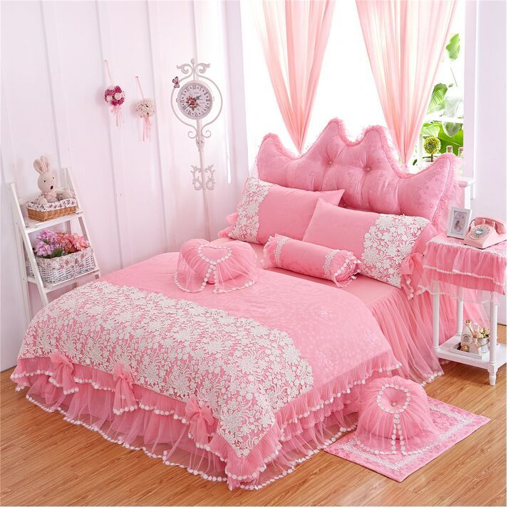 Best 25 ruffle bedspread ideas on pinterest white ruffle comforter vintage bedding and white - Twin size princess bed set ...