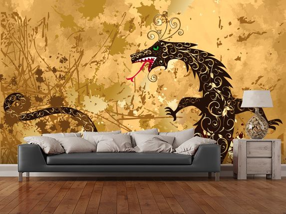 46 best Fantasy and Sci-Fi Wall Murals images on Pinterest | Murals ...
