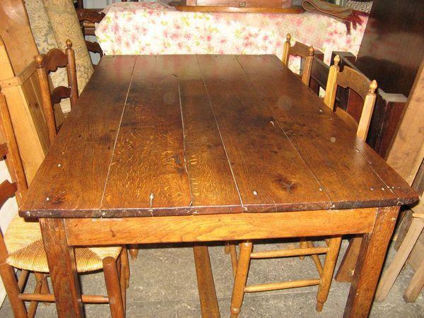 Table De Ferme Ancienne Occasion Table De Ferme Ancienne Table De Ferme Ferme Anciennes