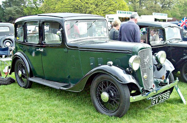 1935 Austin Light 12/6 Ascot with 1496cc OR 1711cc Six-Cylinder Side-Vale Engines (Photo by Robert Knight)