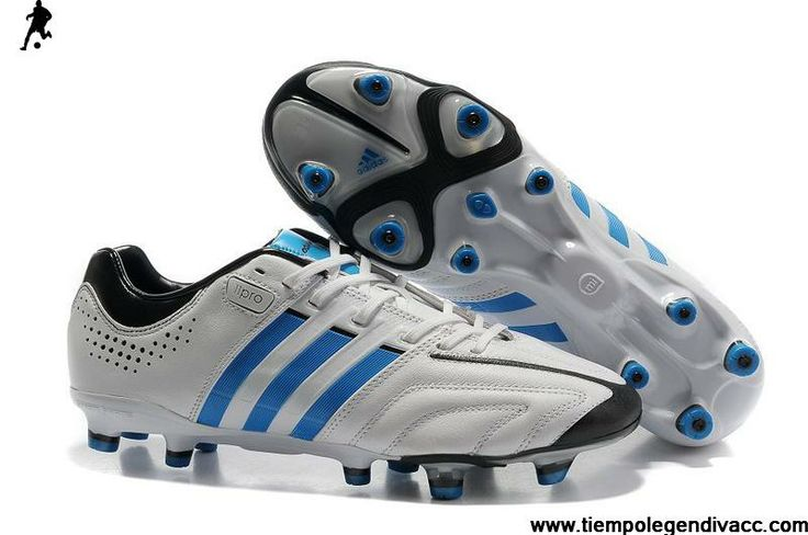 New Adidas adiPure 11Pro TRX FG - Running White-Bright Blue-Black Football Shoes For SaleFootball Boots For Sale