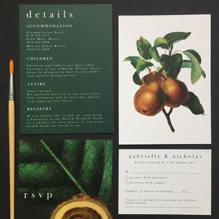 Dark and moody botanicals; an invitation suite incorporating tropical birds, dark shades of green and charcoal grey and tropical birds and plants for a modern touch Dark wedding invitation, botanical wedding invitation, greenery wedding, tropical wedding, wedding invitation, wedding menu, wedding table plan, wedding save the date, botanical, dark green, tropical birds