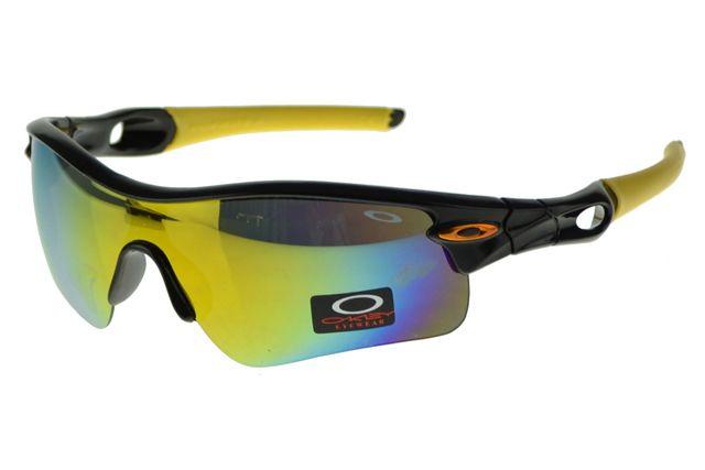 Oakley Radar Range Sunglasses Black Frame Yellow Lens ...