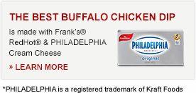 FRANK'S® REDHOT® BUFFALO CHICKEN DIP Recipe | Frank's® RedHot®