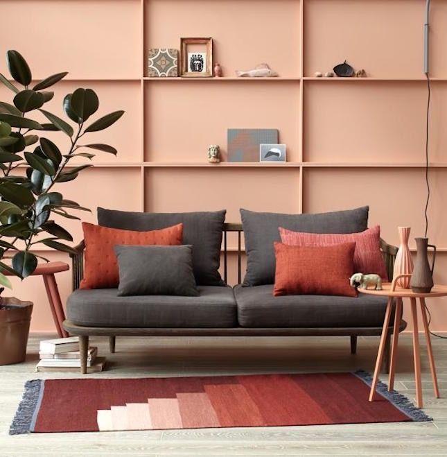 25 besten Wandfarbe ROT Bilder auf Pinterest Wandfarben - wandfarben wohnzimmer mediterran