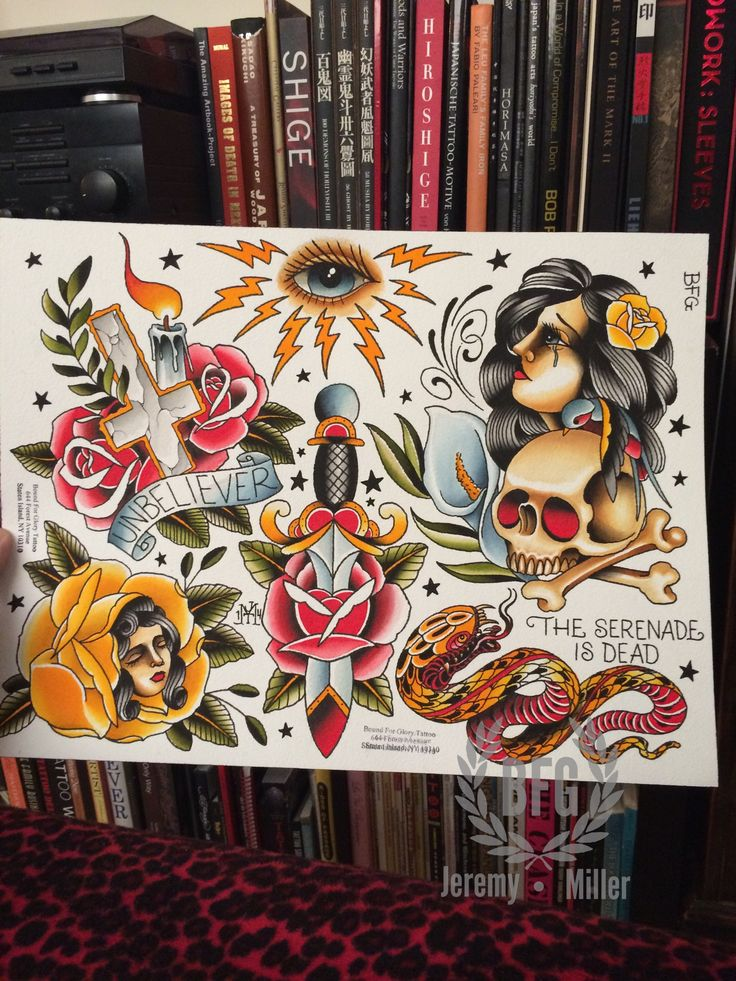 jeremy miller traditional tattoo - Google Search