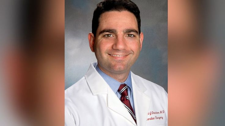 Dr. Michael Davidson died last night of his gunshot injuries.
