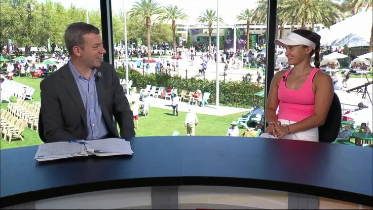 Jon Wertheim sat down with Lauren Davis following her win over Julia Görges at the 2017 BNP Paribas Open to chat more about her shenanigans with coach Mark Schanerman. (Part 1 of 2) #BNPPO17