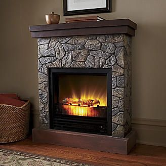 1000 Ideas About Faux Stone Fireplaces On Pinterest