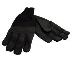 Revara Winter handschoenen Leer  Deze handschoenen zijn voorzien van een dikke voering en de vingers zijn voorzien van een lederen laag voor extra isolatie. Door deze leren laag blijven de vingers van de handschoenen flexibel en isoleren deze beter dan handschoenen waarbij de vingers zijn gemaakt van stof. Dit zorgt ervoor dat u minder snel koude vingers krijgt wanneer het buiten koud is. De handschoen is aan de polszijde extra lang gemaakt. Hierdoor kunt u deze gedeeltelijk in uw jas laten…