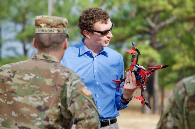 The U.S. Army Training and Doctrine Command invited engineers from the Army Research Laboratory to Fort Benning, Georgia Dec. 1-3, to showcase new technology at the Army Expeditionary Warrior Experiments, or AEWE.