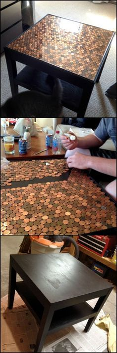 how to build a penny top coffee table httptheownerbuildernetworkco