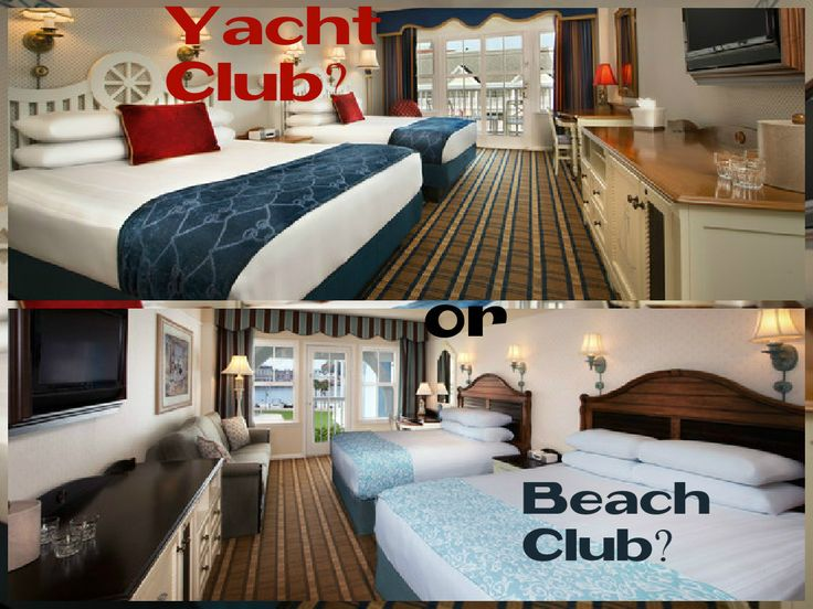What's the Difference Between Disney's Yacht Club and Beach Club Resorts…