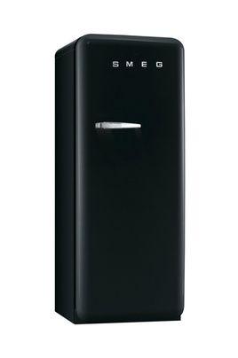 Refrigerateur Smeg Noir Mat Ref FAB28RNE1 - Cuisine