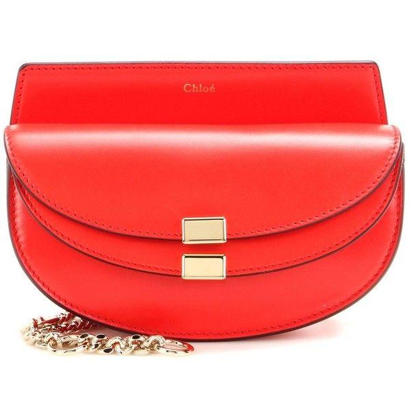 Chlo¨¦ Georgia Leather Convertible Belt Bag (¡ê610) ? liked on ...