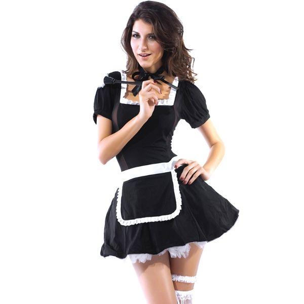 Bubble Dress Woman Role Play 3Pcs Lingeries