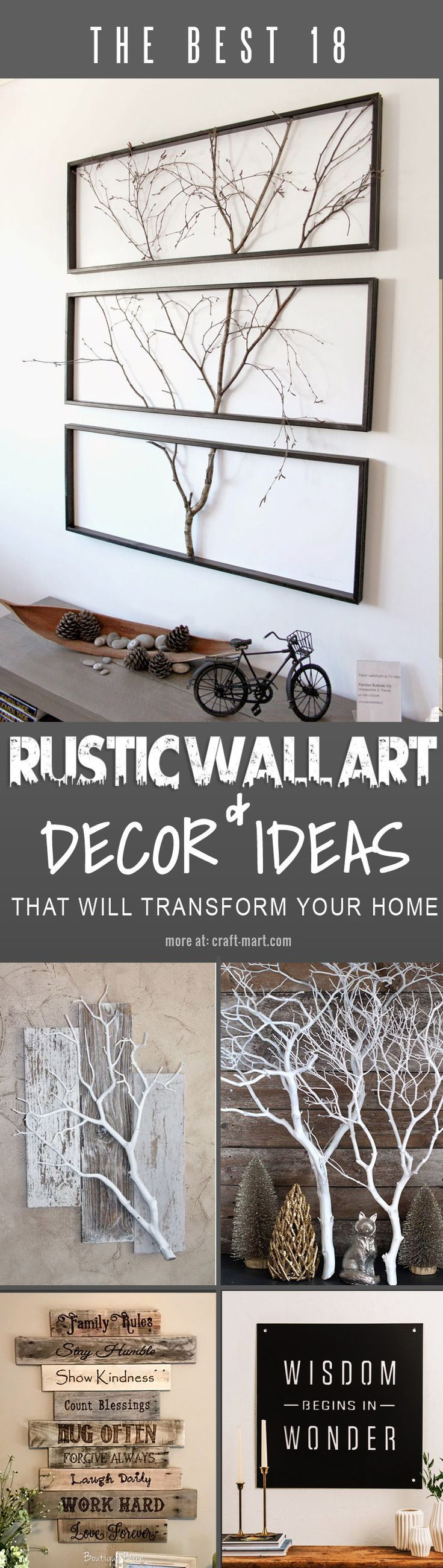 Wall Art Ideas To Help You Deal With Bare Walls Dilemma