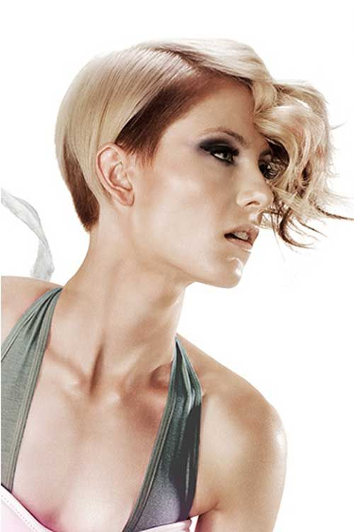 Best Hair Color for Short Hair  Short  Pixie Cuts  Haarfarben Coole haarfarben Neue frisuren