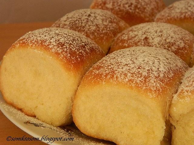 Buchty - baked buns