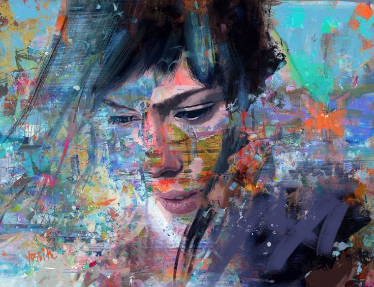 """major"" by yossi kotler. Acrylic painting on Canvas, Subject: People and portraits, Abstract style, One of a kind artwork, Signed on the front, This artwork is sold unframed, Size: 120 x 92 x 3 cm (unframed), 47.24 x 36.22 x 1.18 in (unframed), Materials: Acrylic, Digital, Ink, color and Paint on Canvas"