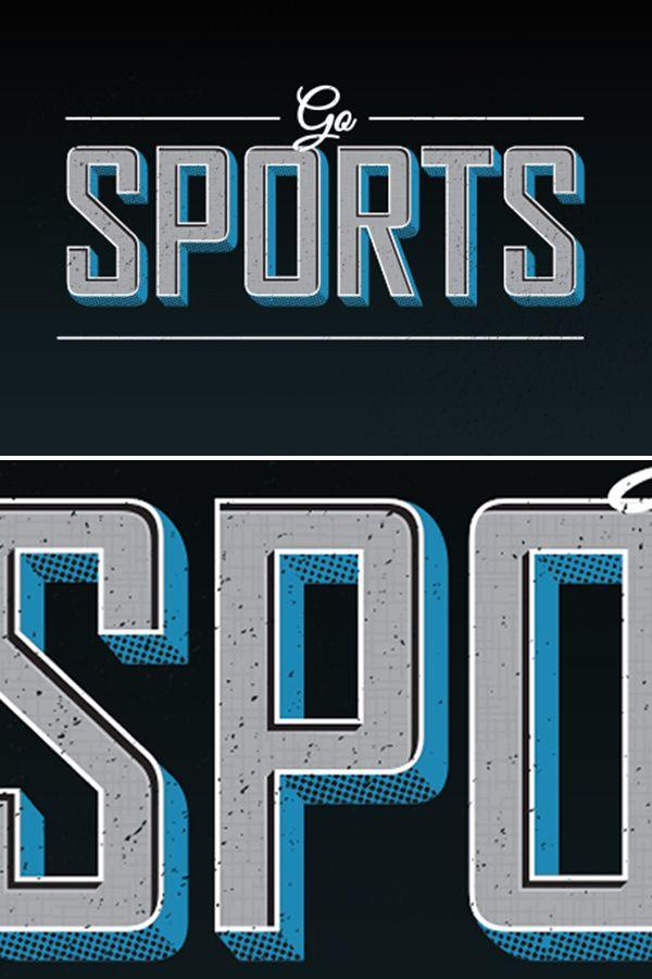 Sports font                                                       …