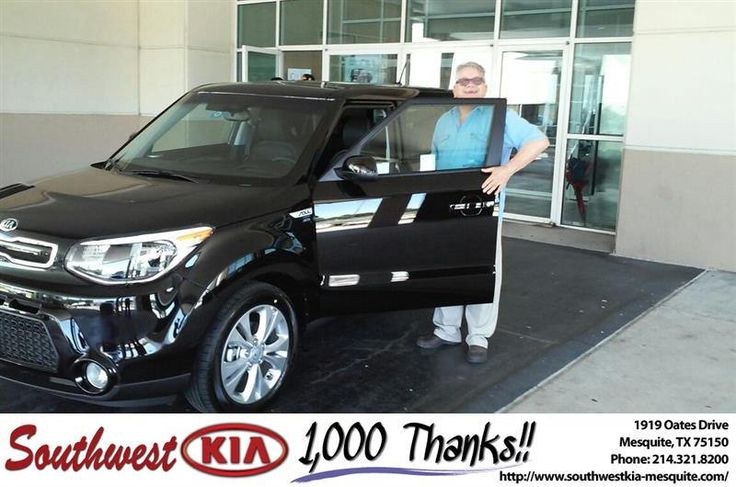 https://flic.kr/p/GXb5GF | Congratulations Dennis on your #Kia #Soul from Mike Stanton at Southwest Kia Mesquite! | deliverymaxx.com/DealerReviews.aspx?DealerCode=VNDX