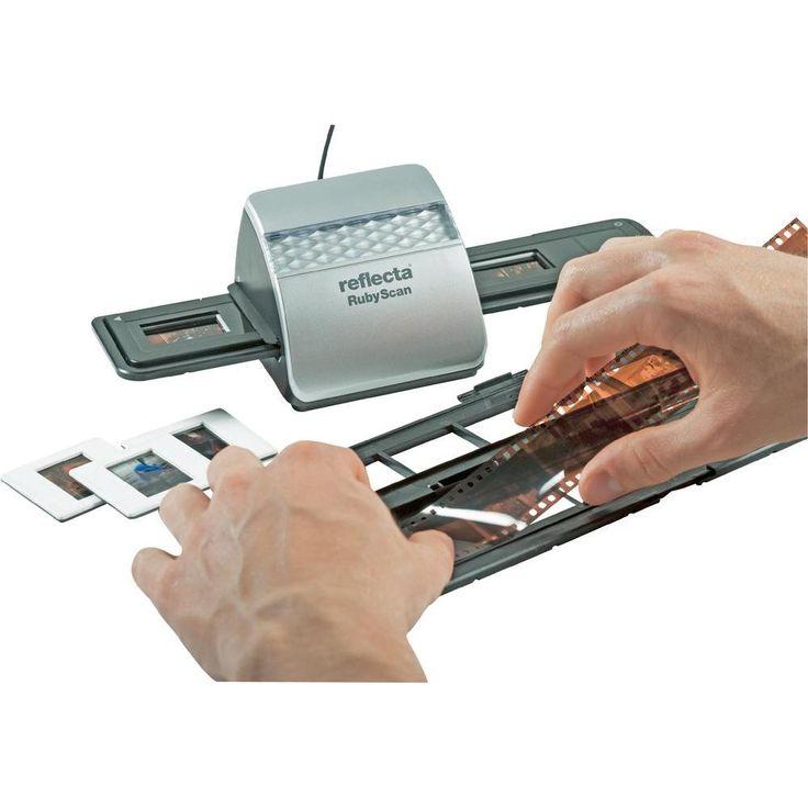 Con el nuevo scanner RubyScan con calidad Alemana presenta una práctica y rápida solución para la digitalización de negativos en tiras de (35 mm) y diapositivas (5×5 cm.) así como película de 110 mm. en tiras. Una alternativa economica pero de muy buena calidad