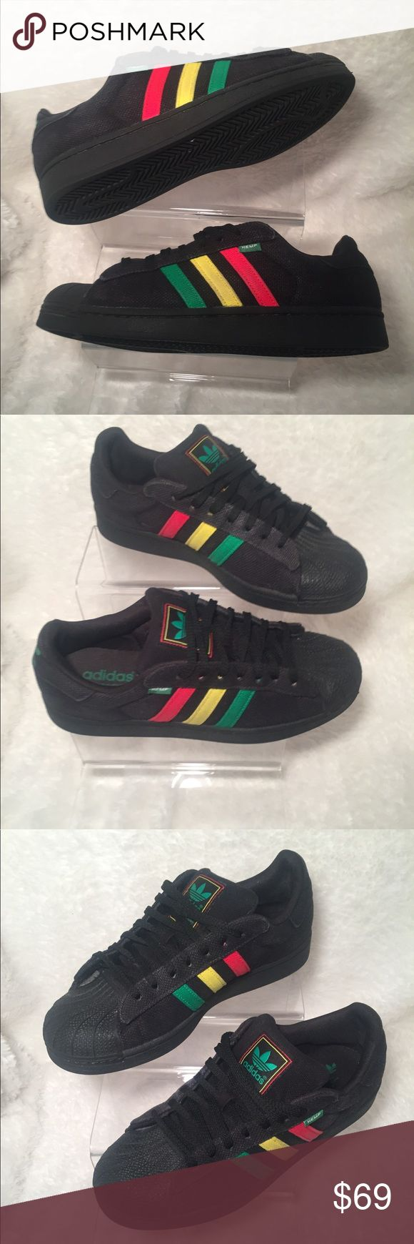 buy online aa457 96df5 new style adidas superstar hemp rasta d9cd4 37d70